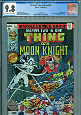Marvel Two-In-One #52 (1979) CGC Graded 9.8 - Moon Knight