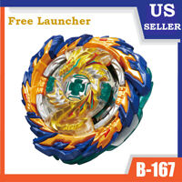 Mirage Fafnir Beyblade Burst SuperKing B-167 Set w/L-R Launcher  - USA SELLER!