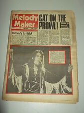 MELODY MAKER 1975 OCTOBER 25 MIKE OLDFIELD CAT STEVENS BLACK SABBATH SPRINGSTEEN