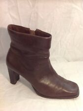 Lilley&skinner Brown Ankle Leather Boots Size 5