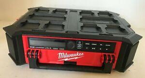 Milwaukee 2950-20 M18 PACKOUT Bluetooth Radio Speaker, Gr