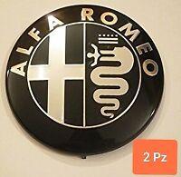 2 STEMMI Alfa Romeo  Giulia Stelvio Giulietta 33 75 156 147 166 164 Spider Mito