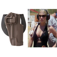 Quick Tactical Holster Right Hand Paddle & Belt Holster for Colt 1911 Tan New
