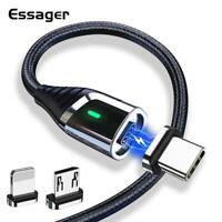 Essager Magnetic Charger Micro USB Cable for iPhone 11 Pro Max Fast Charging