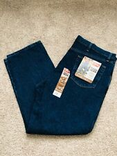 Wrangler Men's Hero  Regular Fit Jeans 42x30 Fit Over Boots Brand New