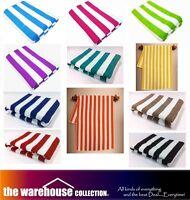 11 Colours! 100% COTTON STRIPE STRIPED TOWELS POOL BEACH BATH TOWEL 75cm X 150cm