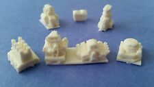New! HO Scale Slot Car Blower Engine Stack Style hood Scoops - Lot #7