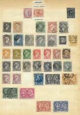 Canada stamps Collection of 38 CLASSIC stamps HIGH VALUE!