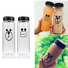 500ML Bottle Juice Cup Fruit Plastic Water Portable Sport My Bottle Clear Travel