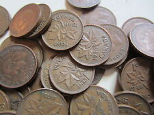 Roll of 1946 Canada Small Cents (50 Coins)
