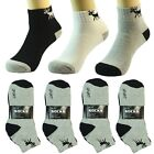 3 6 12 Pair Ankle/Quarter Crew Mens Socks Cotton low cut Size 9-11 Sport DEER AF