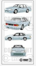 New! Collectable VL SS Group A Holden Commodore Walkinshaw Medium Sticker Set