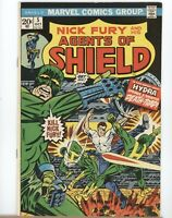 Marvel Comics - Nick Fury And His Agents of SHIELD - #5 - 1973 - FN/VF to VF-