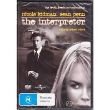 DVD INTERPRETER, THE Sean Penn Nicole Kidman 2005 MYSTERY THRILLER R2 R4 R5 [BNS