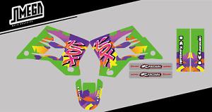 Kawasaki KDX 200 Sticker kit (decals)