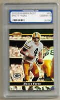 2000 BOWMANS BEST CARD #22 BRETT FAVRE GREEN BAY PACKERS-PGS GEM MINT 10 SWEET!!
