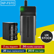 7500mAh ! NP-F970 Battery+Charger for Sony NP-F730 NP-F550 NP-570 F750 F770 F930