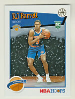 2019-20 Panini NBA Hoops TRIBUTE WINTER PARALLEL 298 RJ BARRETT RC Rookie Knicks
