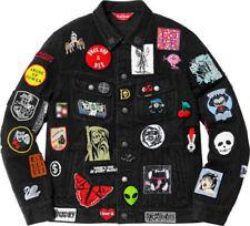 0b1cb1e0534 Supreme Black Coats   Jackets for Men