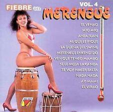 NEW - Fiebre Del Merengue 4 by Various Artists