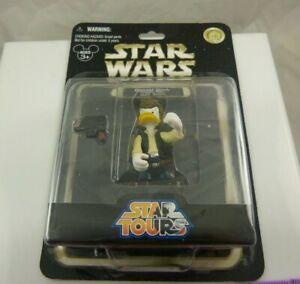 Disneyland Disney Star Wars Donald Duck as Hans Solo Star tours