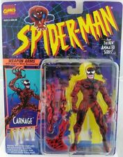 Spider-Man Animated Series Carnage With Snap On Weapon Arms ToyBiz (MOC) Marvel