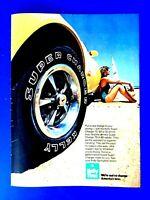 """1970 Pontiac Firebird And Tempest T-37 Original Print Ad 8.5 x 11/"""""""