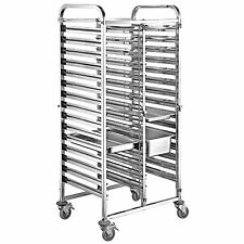 Twin Column 15 Level Gastronorm  Racking Trolley 1/1