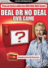 DEAL OR NO DEAL Interactive DVD Game.