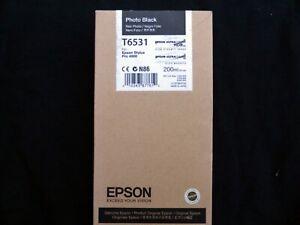 Epson T6531 Genuine Photo Black Ink Cartridge