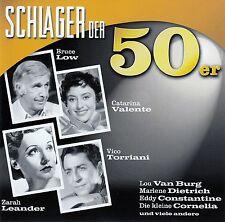 SCHLAGER DER 50ER / CD (SONY MUSIC 990808 2) - TOP-ZUSTAND
