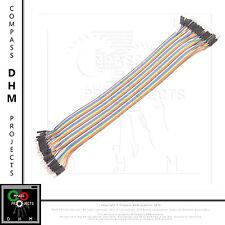40 cavetti Dupont maschio maschio 30 cm cavi flessibili jumper Arduino