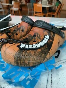 PLEASURES X CROCS DYLAN CLOG Limited Collaboration **Size 11* READY TO SHIP