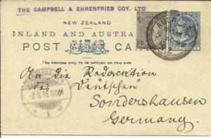 New Zealand postalcard HG:7a(cream paper) uprated SG#236(perf 11) AUCKLAND
