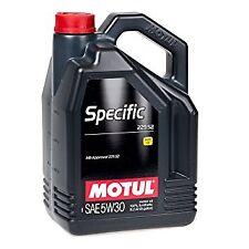 MOTUL SPECIFIC 229.52 5W-30 OLIO MOTORE MERCEDES 5 LITRO 100% SINTETICO C3 SN CF