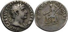 Denar 101-102 RÖMISCHE KAISERZEIT Trajan, 98-117, Fackel #CC137
