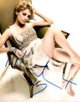 Melanie Laurent signed 8 X 10 photo~~Is a French Actress Super Hot~~