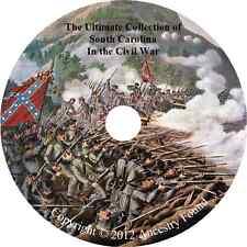 South Carolina Civil War Books - History & Genealogy - 27 Books on DVD