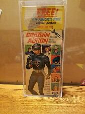 CAPTAIN ACTION IDEAL ACRYLIC CASES THIS SALE IS FOR ACRYLIC CASES ONLY NO TOYS