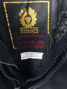 Mens Vintage Leather Belstaff Motorbike Pants, Good Vintage Condition.