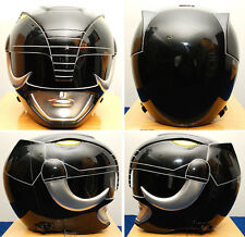 NEW Aniki Cosplay Power Rangers Black Ranger Zyuranger Mammoth Ranger Helmet