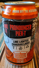 UPDATED Description: Pronounced Pier-T Collectible Beer Can. RUSH. $$ to Charity