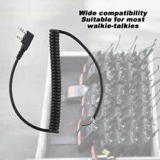 Walkie Talkie Speaker Mic Cable for Baofeng for Kenwood TK-240 for Linton Radio