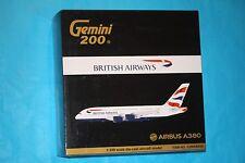 Brand New Gemini Jets 1:200 British Airways Airbus A380-800 Qantas G2BAW558