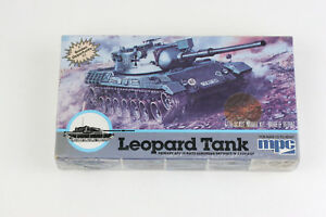 MPC Post WWII  German Leopard  West German Tank 1/76 ( 20mm ) Scale New Sealed