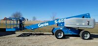 2012 Genie S-60X 4x4 Boom Man Lift Telescopic Jlg Financing Diesel  Foam Tires
