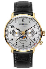 ZEPPELIN Hindenburg Men's watch with Moon phase 7038-1