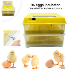 96 Eggs Incubator Digital Chicken Bird Duck Hatcher Fully Turning Automatic 110V