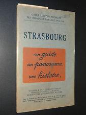 STRASBOURG - GUIDE MICHELIN DES CHAMPS DE BATAILLE (1914-1918) - 1920