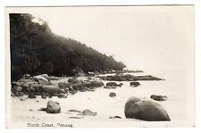 North Coast - Penang Real Photo Postcard c1920s